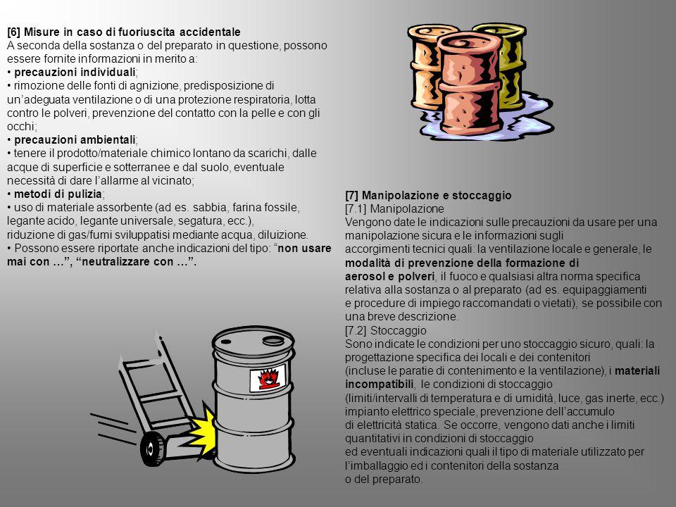[6] Misure in caso di fuoriuscita accidentale